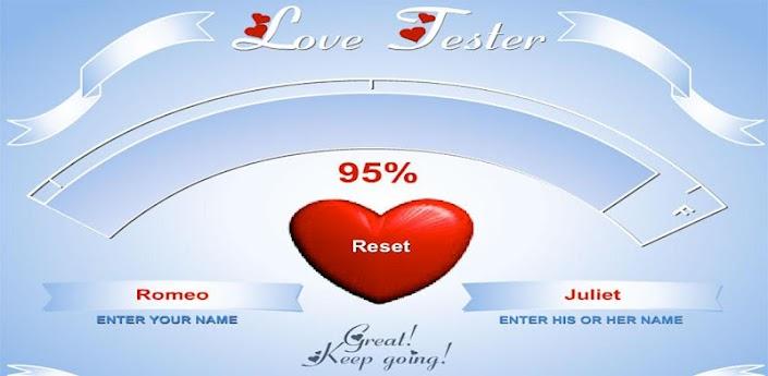 Love Tester apk