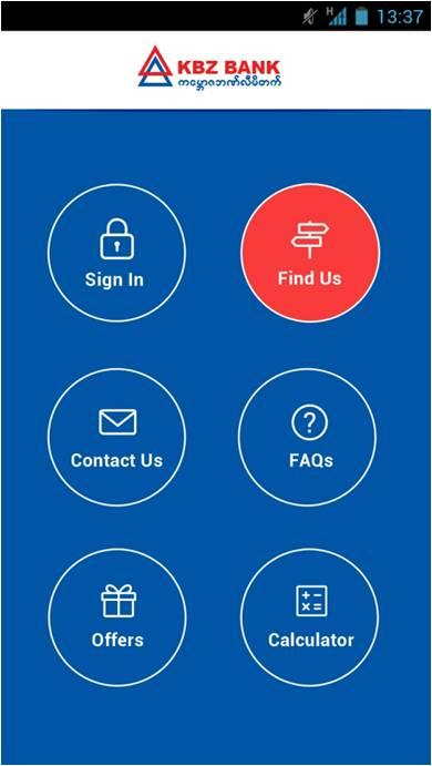KBZ Mobile Banking- screenshot