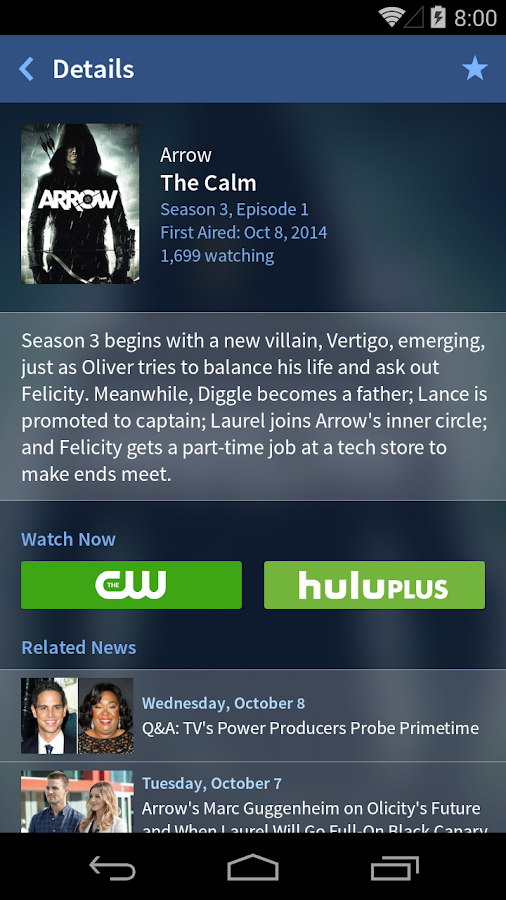 TV Guide Mobile - screenshot