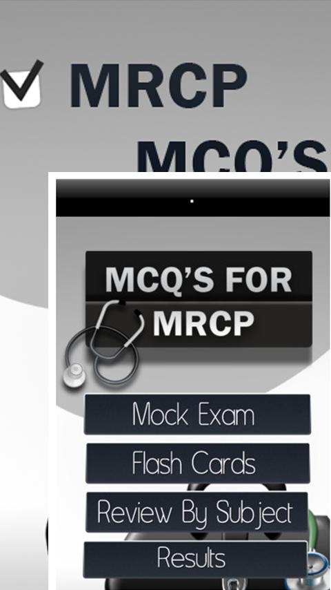 MRCP MCQ's Exam Questions - screenshot