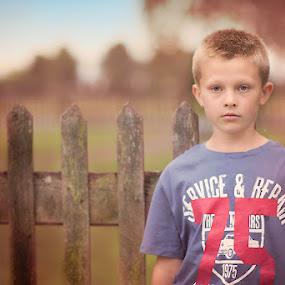 A Boy by Szymon Stasiak - Babies & Children Child Portraits