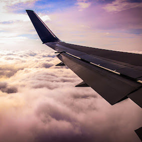 Cott Candy by Cody Coker - Landscapes Cloud Formations ( clouds, wing, traveling, airplane, beautiful, travel, airplaneclouds,  )