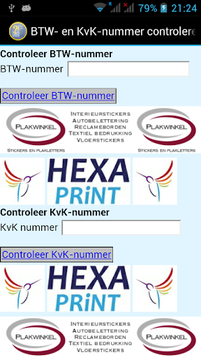 BTW- KvK-nummers controleren