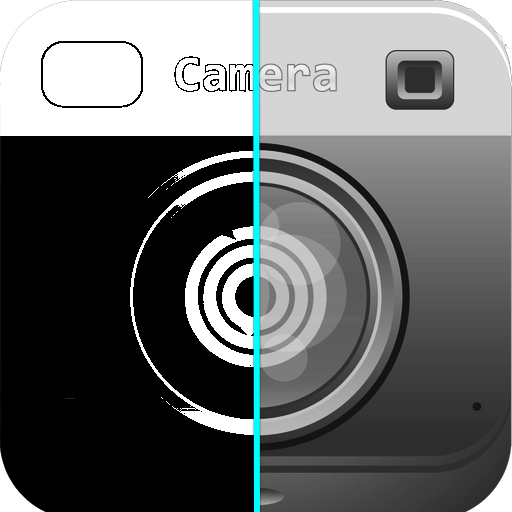 モノクロPhotoカメラ ~絵画風な写真~ 攝影 App LOGO-硬是要APP