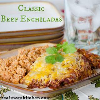 Classic Beef Enchiladas.