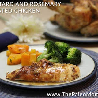 Mustard and Rosemary Roasted Chicken (21DSD-friendly!).