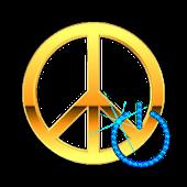 Screen Off & Lock Peace Mark