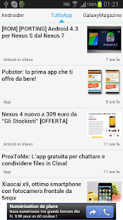 Android Notizie - screenshot thumbnail