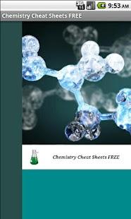 免費化學作弊表