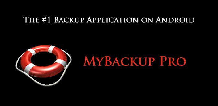 Android Backup - MyBackup Pro