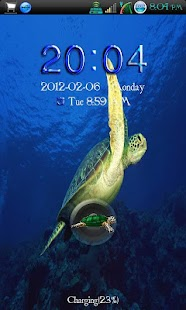 Go Locker Sea Turtle Free - screenshot thumbnail