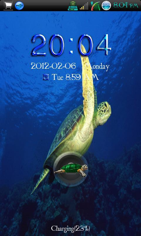 Go Locker Sea Turtle Free - screenshot