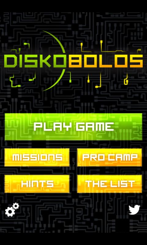 Diskobolos- screenshot