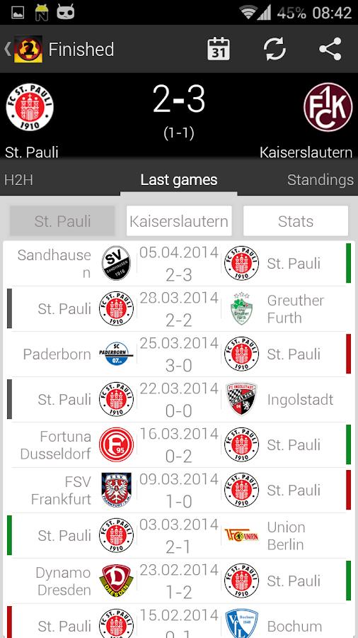 deutsche 2 liga live