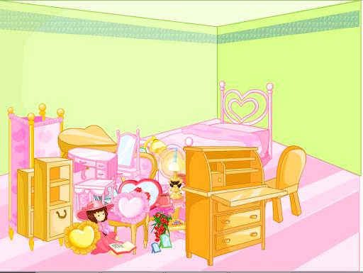 เกมส์แต่งห้องนอนเจ้าหญิง