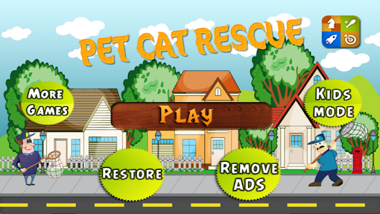 Pet Cat Rescue Free Kids Games 街機 App-愛順發玩APP