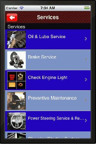 Scott's Automotive- screenshot