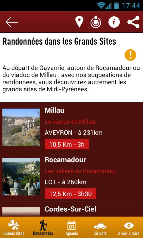 Grands Sites Midi-Pyrénées- screenshot