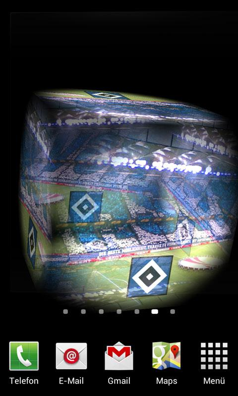 3D Hamburger SV Live Wallpaper - screenshot