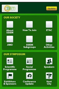 SSIEM Society & Symposia - screenshot thumbnail