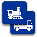 Train and Bus in Latvia icon