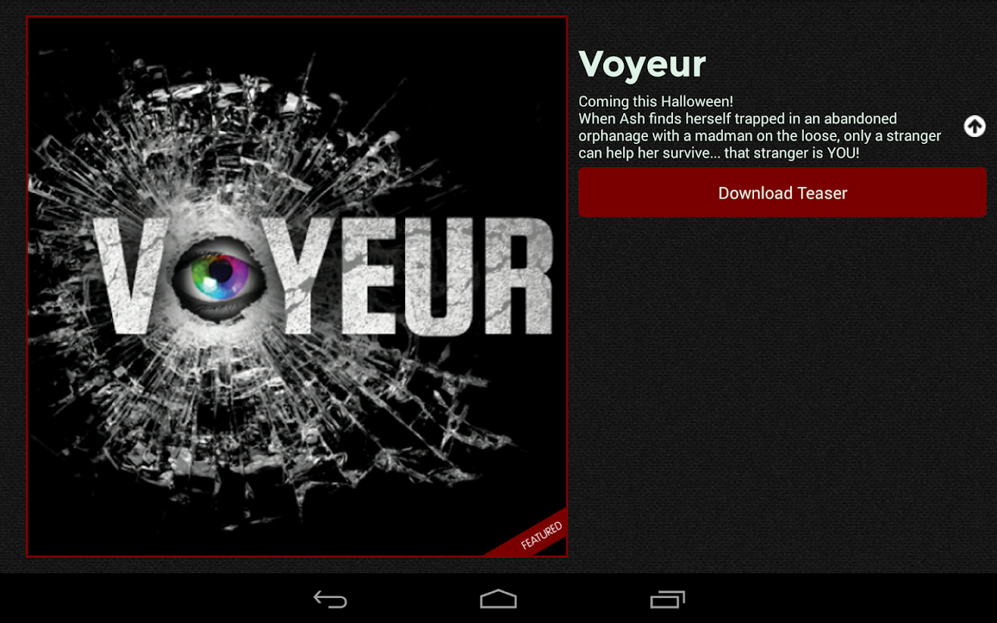 CineApp- screenshot