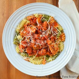 Artichoke and Mushroom Tomato Sauce