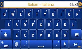 Screenshot of SlideIT Italian Pack