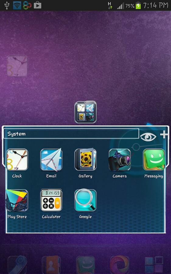 Next 3D Go Launcher Ex Theme - screenshot