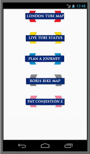 London Transport Planner- screenshot thumbnail