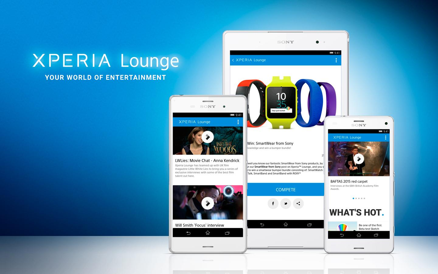 Xperia™ LOUNGE - screenshot