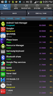 Android Task Manager Pro - screenshot thumbnail