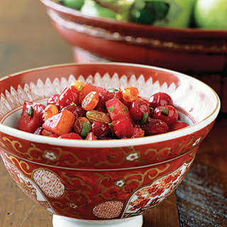 Cranberry-Pear Chutney.