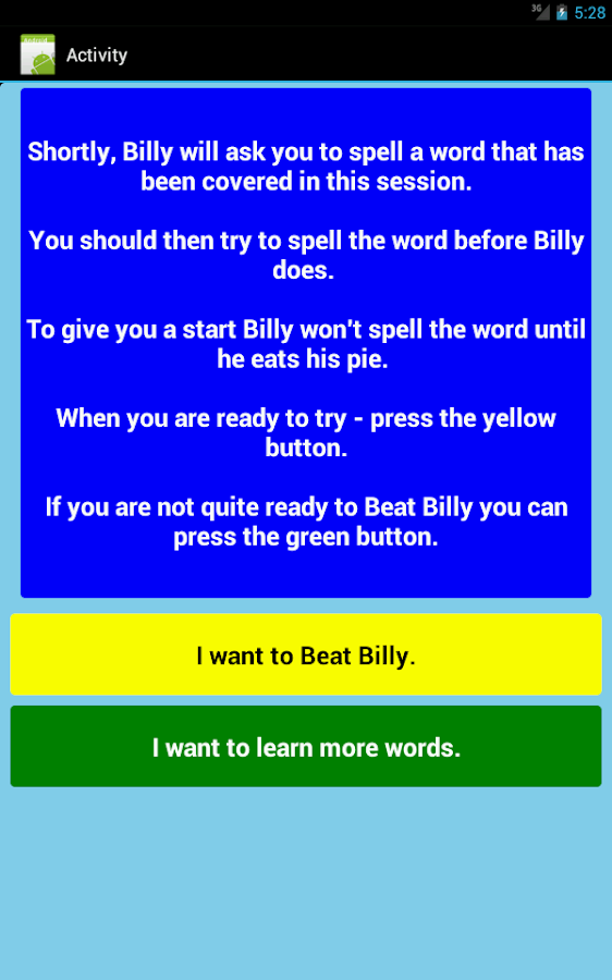 Three Letter Words Part 1 Free- screenshot