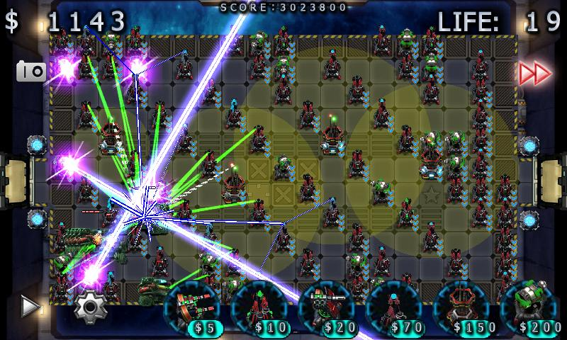 Galaxy Wars TD - screenshot