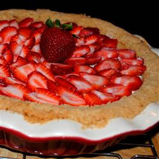 Deni's Strawberry Cheese Pie.