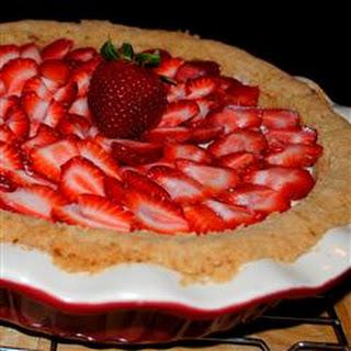 Deni's Strawberry Cheese Pie.
