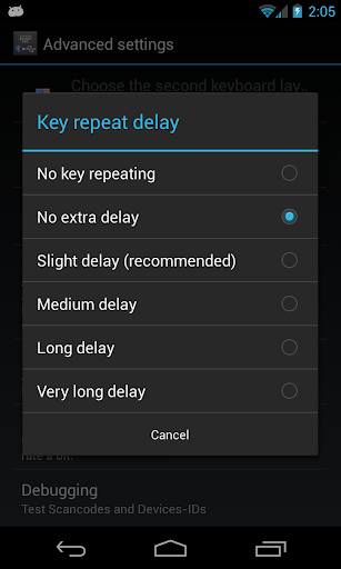 External Keyboard Helper Demo 7.4 screenshots 6