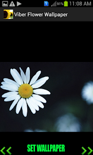 Viber Flower Wallpaper - screenshot thumbnail