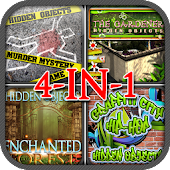 Hidden Objects Quest 4 in 1