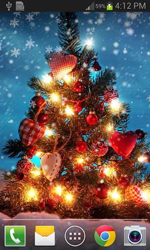 聖誕雪景動態桌布 FREE PRO