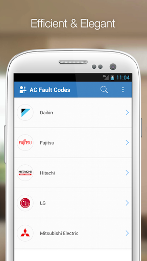AC Fault Codes