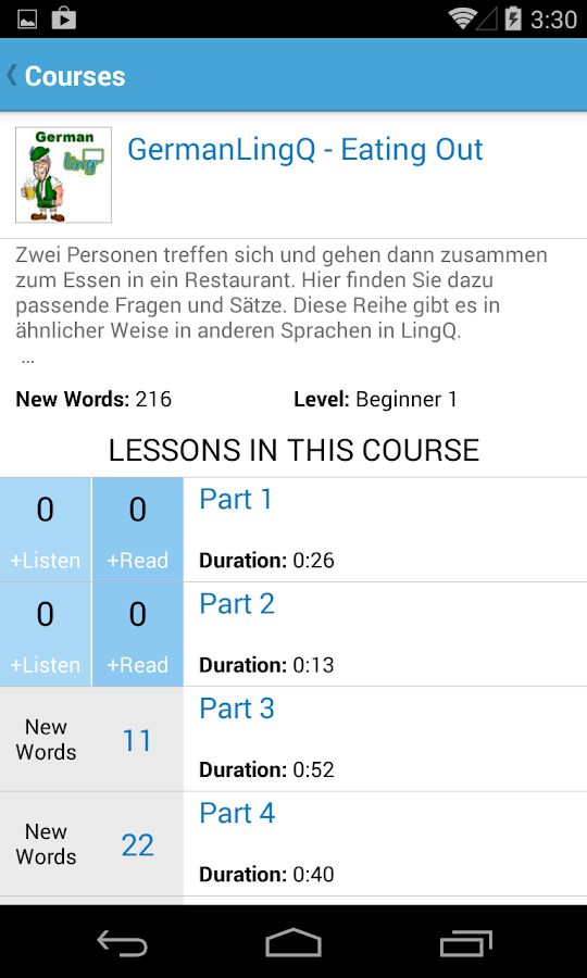 Learn Languages - LingQ- screenshot
