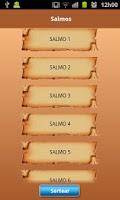 Screenshot of Salmos para Android