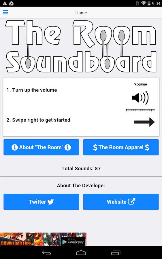 The Room Movie Soundboard- screenshot