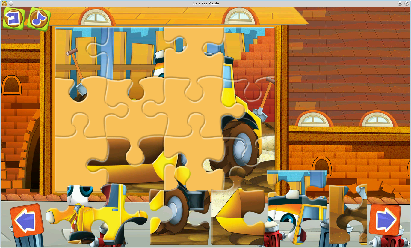Vehicles Jigsaw Puzzles- screenshot