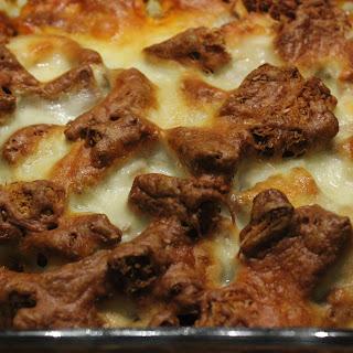 Low FODMAP and Gluten Free Chicken Parmesan Casserole