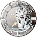 White Tiger2 clock logo