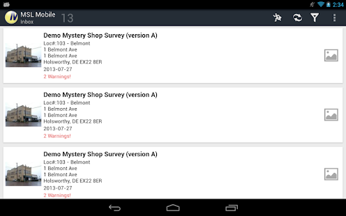 Mystery Shoppers Mobile- screenshot thumbnail