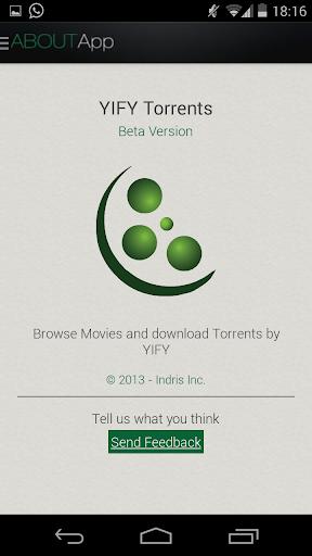 【免費媒體與影片App】YIFY Torrents Beta-APP點子